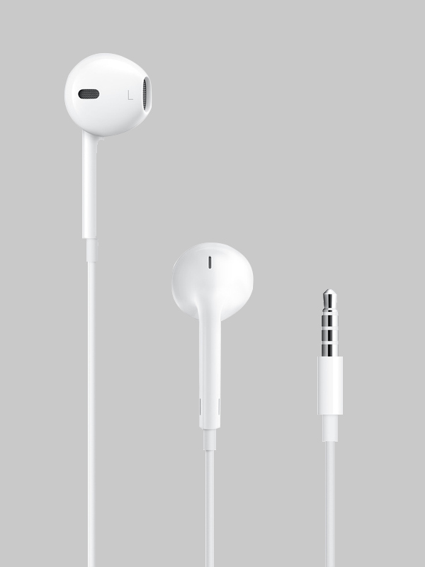 Apple Earpods With Remote And Mics MNHF2ZM/A