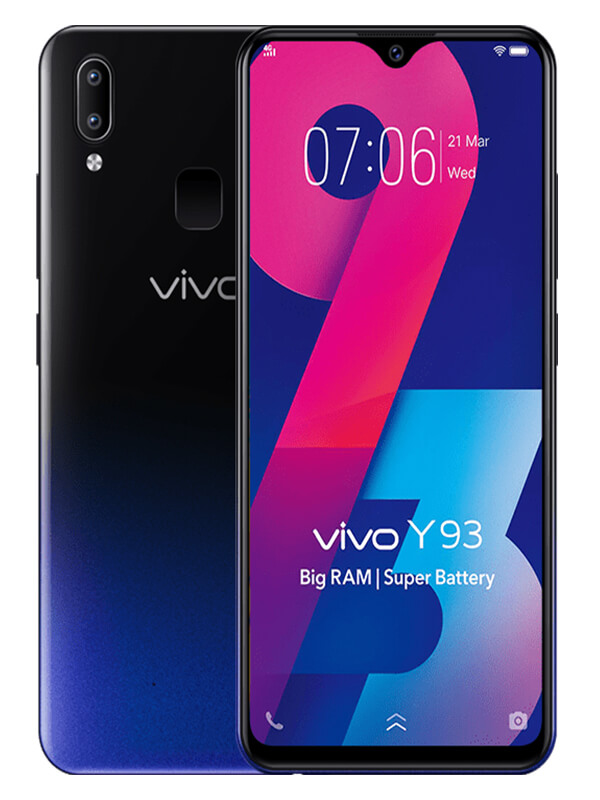 Vivo Y93 Black 4GB|32GB